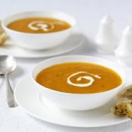 Healthy Carrot and Coriander Soup