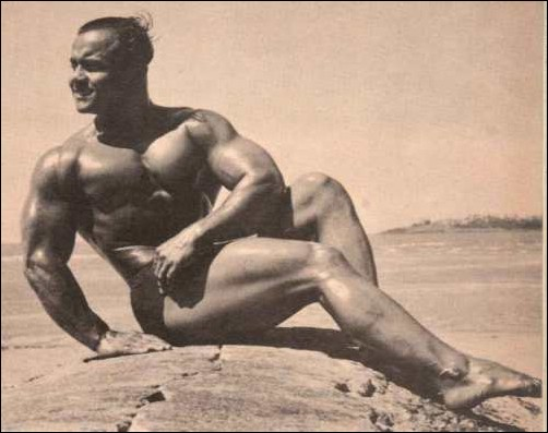 100 year old Body Builder