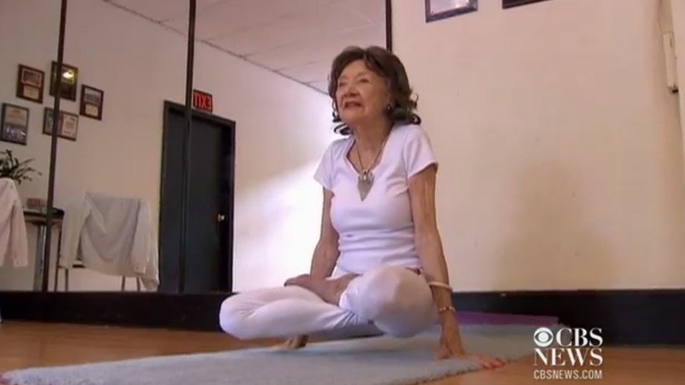 Worlds oldest yoga teacher